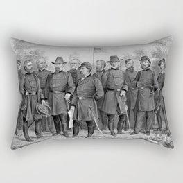 Union Generals of The Civil War Rectangular Pillow