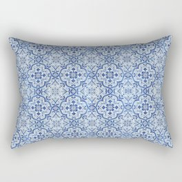 Azulejo Portuguese Rectangular Pillow
