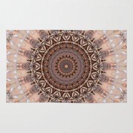 Mandala romantic pink Rug