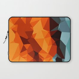 green blue brown orange and yellow abstract background Laptop Sleeve