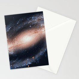 Spiral galaxy in the constellation Eridanus NGC 1300 Stationery Cards
