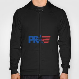PR 51st State Design for Puerto Rico Statehood Long Sleeve T-Shirt Hoody