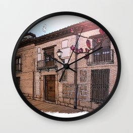 Sweet Home Alcalá Wall Clock