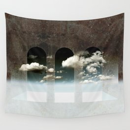 Window To Heaven Textured Wall Tapestry