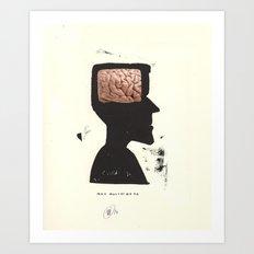 max mustermann or John Smith... Art Print