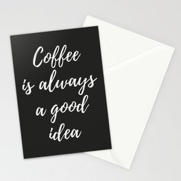 The Coffee Lover I Stationery Cards