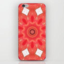 Burning love iPhone Skin