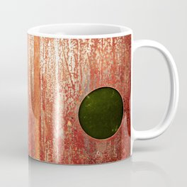 Metallic Face (Red Version) Coffee Mug