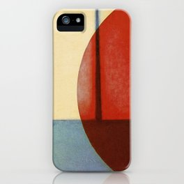 Waning Gibbous iPhone Case