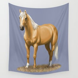 Beautiful Palomino Quarter Horse Wall Tapestry