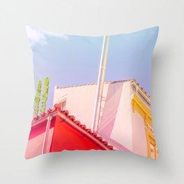 Surrealism Geometry Throw Pillow