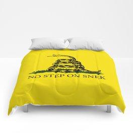 No Step On Snek Comforters