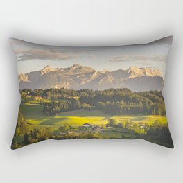 evening walk Rectangular Pillow