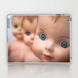 Baby Blue Eyes Laptop & iPad Skin