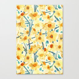Yellow Jonquils Canvas Print