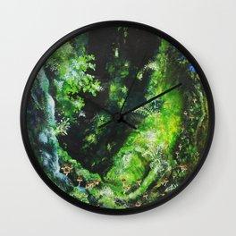 princess mononoke forest Wall Clock