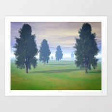 Fairway To Seven Art Print