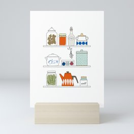 Scandinavian Pantry Mini Art Print