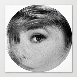 ArcFace - Audrey Hepburn  Canvas Print