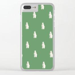 Jolly Polar Bears Clear iPhone Case