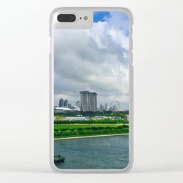 Singapore Tug Clear iPhone Case