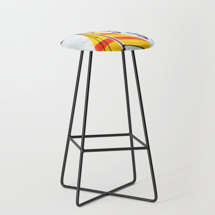 Oh the Places You'll Go - Dr. Seuss Bar Stool