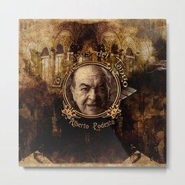 Capos del Tango • Alberto Podesta Metal Print
