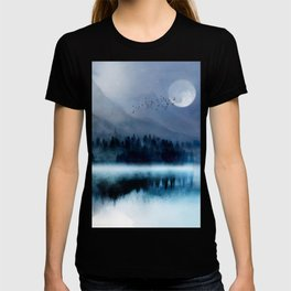 Mountainscape Under The Moonlight T-shirt