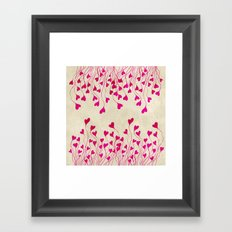 Heart You Framed Art Print