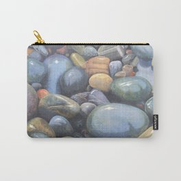 River Stones in Oil Carry-All Pouch