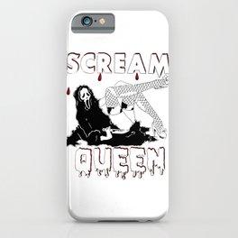 Scream Queen iPhone Case