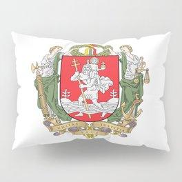 flag of vilnius Pillow Sham