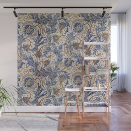 Aged Pomegranate Pattern Wall Mural
