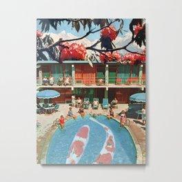 Hotel Koi Metal Print