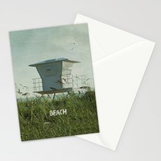 Off Duty Lifeguard Stationery Cards