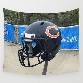 Bears Helmet Color Photo Wall Tapestry