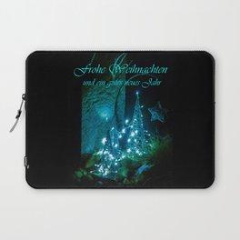 Frohe Weihnachten und ein gutes neues jahr Laptop Sleeve