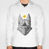 bad wolf Hoodies featuring Big Bad Bad Wolf  by Dave P