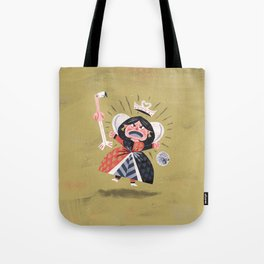 Queen of Hearts - Alice in Wonderland Tote Bag