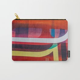 Graffiti stripes Carry-All Pouch
