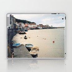 Whitby Row Boats Laptop & iPad Skin