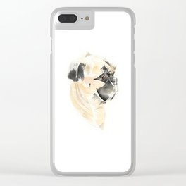 Birthday Girl Clear iPhone Case