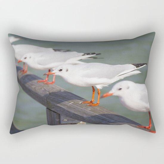 Seagulls II Rectangular Pillow