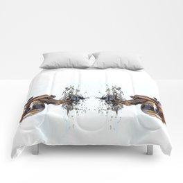 Marble Oil Comforters