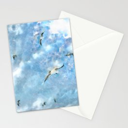 The Chasers - Seagulls In Flight Stationery Cards