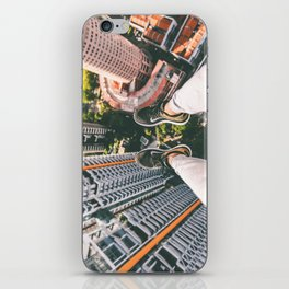 view high above top 5 iPhone Skin