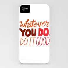 Express Yourself Slim Case iPhone (4, 4s)
