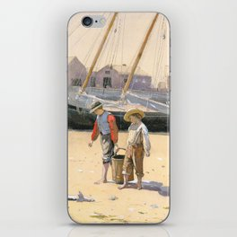 A Basket of Clams iPhone Skin