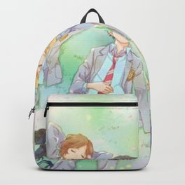 Kimiuso grassy sleep! Backpack