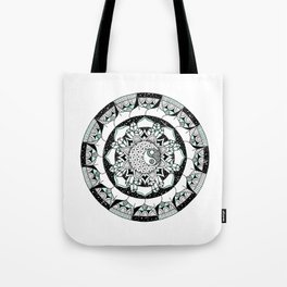 Balanced Moon Tote Bag